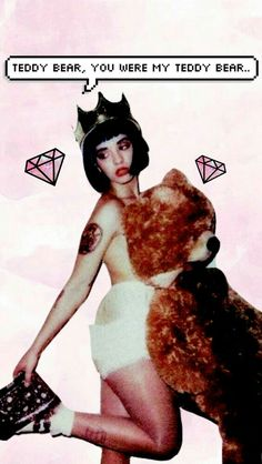 Melanie Martinez Teddy Bear Edit! 🐻