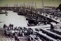 Wick Harbour. At the height o the Herring. c1890s