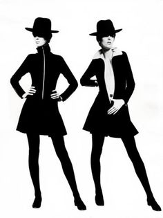 Mary Quant in the 60s And 70s Fashion, Mod Fashion, Fashion Models, Vintage Fashion, Vintage Style, Style Année 60, Style Icons, Cool Style, Mary Quant