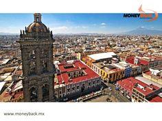 """Apodada """"El Santuario de América"""" debido a su belleza arquitectónica, la ciudad de Puebla fue, según la leyenda, creada y diseñada por ángeles, pero para ser disfrutada por mortales. En este hermoso pueblo colonial encontrarás muchas empresas afiliadas a nuestro servicio de devolución de impuestos para turistas extranjeros viajando en México. #viajeamexico"""