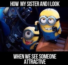 When we see someone attractive…