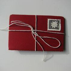 """GT - An original """"zine"""" / mini sketchbook in a red..."""