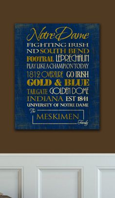 Notre Dame!! Fighting Irish ♥ University of Notre Dame. Love the Fighting Irish?  The repin this and like our fan page at https://www.faceboook.com/ilovethefightingirish