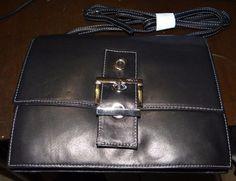 Perlina Purse Black Handbag #Perlina #ShoulderBag