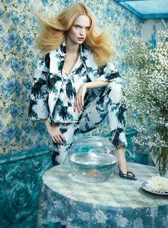 Floral Fantasy Editorials : Floral Fantasy