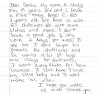 BeAnElf.org: respond to a real letter to Santa...maybe an indianapolis area post office will participate next year