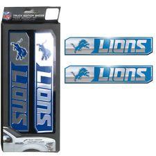 NFL Detroit Lions Car Truck Edition Badge Color Aluminum Emblem Decal  Sticker FREE SHIPPING! 0f4c68360