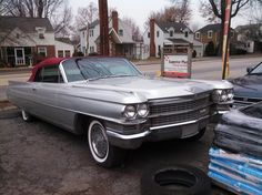1963 Cadillac She has been sitting for quite a while. Looks like she is missing her mill