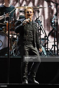 Singer Bono of the band U2 performs during U2 'Joshua Tree Tour 2017' at MetLife Stadium on June 28, 2017 in East Rutherford, New Jersey.