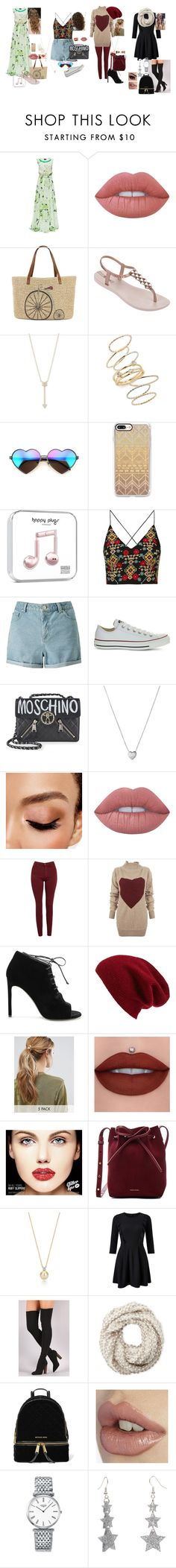"""The Four Seasons"" by terra-wendy ❤ liked on Polyvore featuring Lattori, Lime Crime, Straw Studios, IPANEMA, EF Collection, BP., Wildfox, Casetify, Topshop and Miss Selfridge"