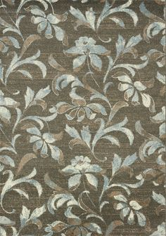 Casa Flower Taupe Area Rug