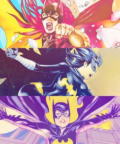 Batgirl Through the Comics - Barbara Gordon, Cassandra Cain, Stephanie Brown
