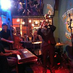 Check out the Spotted Cat on Frenchmen Street