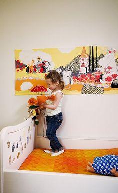 Moomin wall art