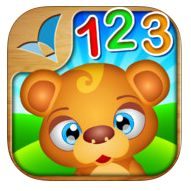 123 KIDS FUN NUMBERS by RosMedia (normally $1.99) Kids fun numbers has several activities all working on counting from 1-10 (say numbers, show numbers, number identification). Occupational Therapists can work on visual perceptual (eye tracking, visual discrimination) and fine motor skills (fine motor precision, dragging).