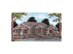 Discover the Cabrillo Traditional Ranch Home that has 4 bedrooms and 3 full baths from House Plans and More. See amenities for Plan Ranch Home Floor Plans, House Floor Plans, Virginia House, West Virginia, American Houses, House Plans And More, Ranch Style Homes, Full Bath, Curb Appeal