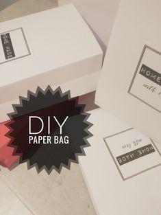 DIY PAPER BAG | Taittele paperipussi itse | Paperipussin taitteluohje