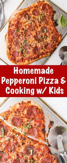 Homemade Pepperoni Pizza with lots of tips and tricks on cooking with kids. Homemade Pepperoni Pizza with lots of tips and tricks on cooking with kids. Quick Lunch Recipes, Easy Dinner Recipes, Vegetarian Recipes, Easy Meals, Mince Recipes, Easy Recipes, Family Meals, Kids Meals, Pizza Recipes Pepperoni