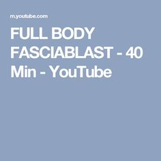 FULL BODY FASCIABLAST - 40 Min - YouTube Fascia Blaster Ashley Black, Fascia Stretching, Fascia Blasting, Tight Hip Flexors, Psoas Muscle, Tight Hips, Reflexology, Full Body, Total Body