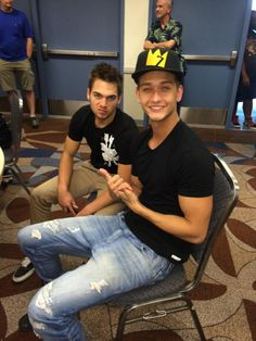 Cody Saintgnue and Dylan Sprayberry