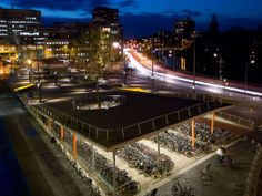 Graffiti & Roof Parties: 10 Ideas For Cities To Lock Down Bicycling Infrastructure - Architizer
