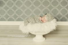Neutral Crochet Cocoon & Hat  Newborn Photo Prop by 3strandscrafts, $29.00 @Jamey Woodruff