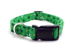 St. Patrick's Day Dog Collar  1 Medium and by MuttsandMittens, $18.00
