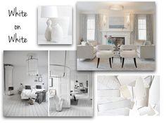 White on White - A.Clore Interiors Trend Board