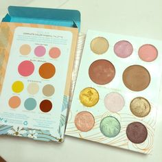 Pacifica Solar Makeup Palette Gorgeous Pacifica makeup palette gives you everything all in one. Colors gently used and in perfect condition to recycle! Comes with box. See pics for details Pacifica Makeup