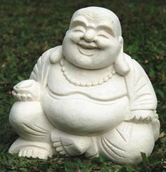 Sigh. I find it IMPOSSIBLE to source a laughing stone Buddha White Laughing Buddha in Australia.