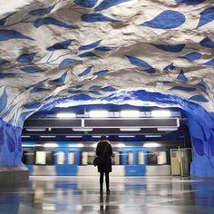 """ため息の出る美しさ!世界各国のオシャレすぎる""""地下鉄駅""""8選 7枚目の画像"""