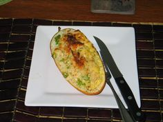 Lemon Pasta-Stuffed zucchini recipe from Food Network Magazine