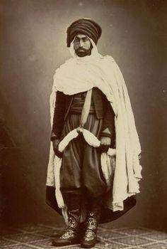 Algerian spahi, province de Constantine, end of 19th century