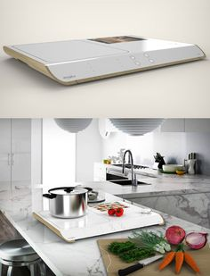 The Whirlpool Levita aims to change your kitchen. Read at Yanko Design
