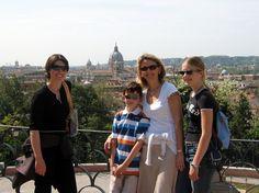 Pincio terrace #kidstours