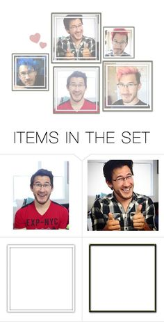 """""""Markiplier"""" by passion-pixels ❤ liked on Polyvore featuring art, youtube and markiplier"""