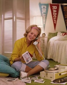 phone. record player. teenager.