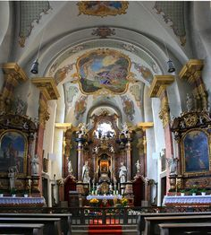 Inside the Sandkirche, /Aschaffenburg