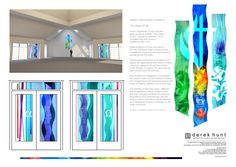 New project for new build Trinity Methodist Church, East Grinstead #glassart