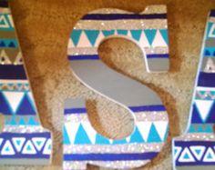 painted sorority wooden letters - Google Search Wooden Greek Letters, Painting Wooden Letters, Sorority Letters, Sorority Crafts, Sorority Life, Bid Day Themes, Preschool Crafts, Preschool Alphabet, Big Little Reveal