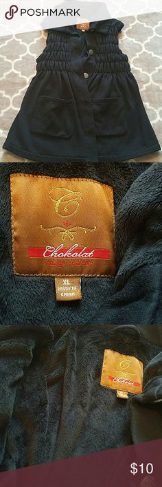 Black vest. Size XL So soft! Must have for winter!! chacalat Jackets & Coats Vests