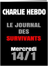 Charlie Hebdo to be published on schedule next Wednesday with a print run of 1 million. le journal des survivants!