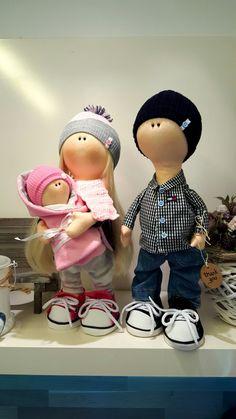 Happy family ❤ new handmade dolls