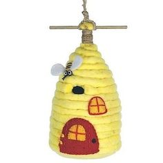 Felt Birdhouse #Beautiful creations should have beautiful #impacts. Patronage #Fairtradeproducts