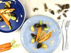 Recette : poulet au vin jaune et aux morilles ! Savoureux et facile à réaliser ! [Vidéo]