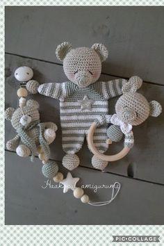 Crochet Bear Pattern-Crochet Rag Doll Bear Pattern-Amigurumi Bear-DIY Crochet To. - SßYß - Crochet Bear Pattern-Crochet Rag Doll Bear Pattern-Amigurumi Bear-DIY Crochet To. So wird man Stielwarzen los. Diy Crochet Toys, Crochet Teddy, Crochet For Kids, Crochet Dolls, Crochet Bear Patterns, Amigurumi Doll, Baby Knitting, Handmade Baby, Etsy