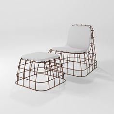 POLTRONCINA | Imitation leather armchair Filodiferro Collection By Barel design Simone Micheli