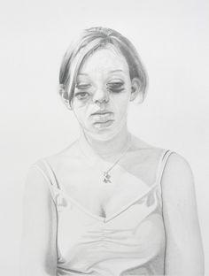 """Saatchi Online Artist: Philip Harris; """"Katy (Pencil)"""""""
