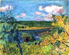 Vernonnet, Paysage Près de Giverny, France - Pierre Bonnard