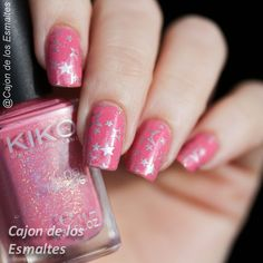 Kiko 505 - Stamping with stars from BP L013 from @bornprettystore